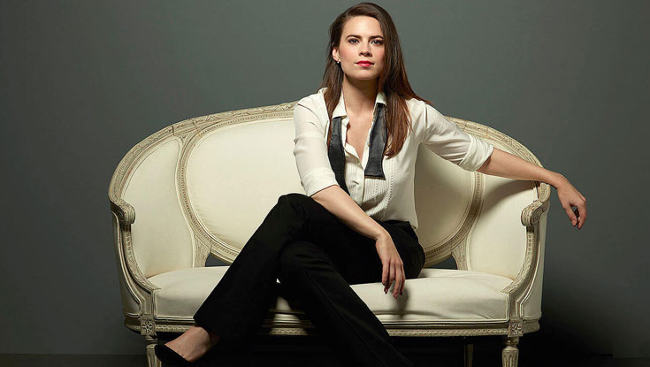 Hayley Atwell Body Statistics And Measurements